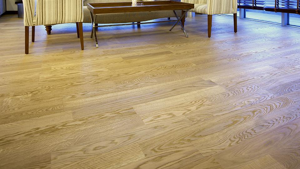 Natural Red Oak Vinyl Flooring Planks
