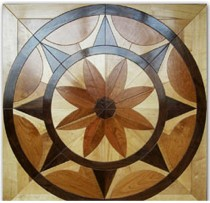 Flooring Medallions - Customize Your Flooring