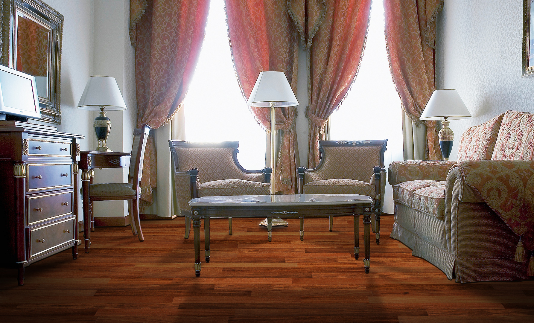 What is the certificate of Ferma Flooring Solid Hardwood?
