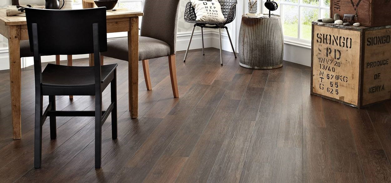 Vinyl Kitchen Flooring Part - 30: Luxury-vinyl-plank-in-kitchen