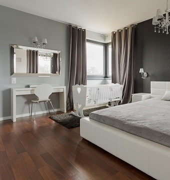 Match Wall Tones With Your Wood Floors Ferma Flooring Inspiration Wooden Flooring Bedroom